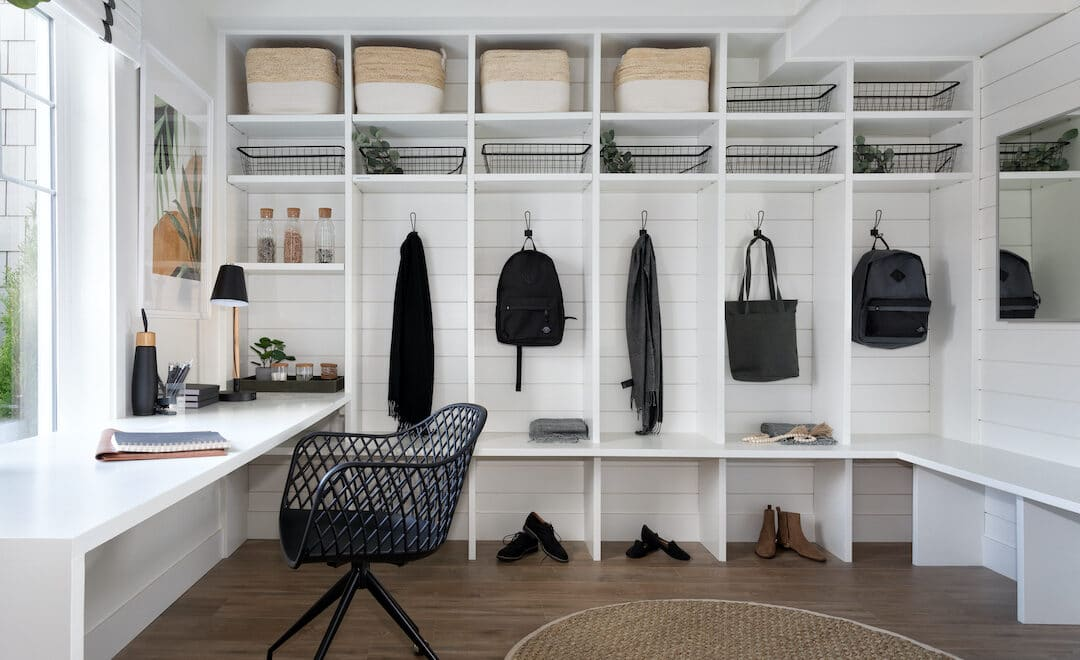 River + Pine Office & Mudroom